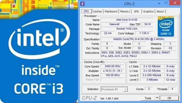 Core i3-4130 é um processador básico, mas contém o essencial para jogos (Foto: Montagem / Dario Coutinho)