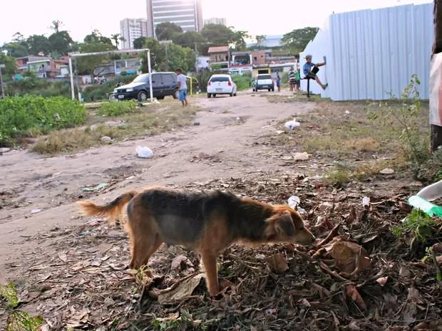 Crime ocorreu no bairro Petrópolis (Foto: Ive Rylo/G1 AM)