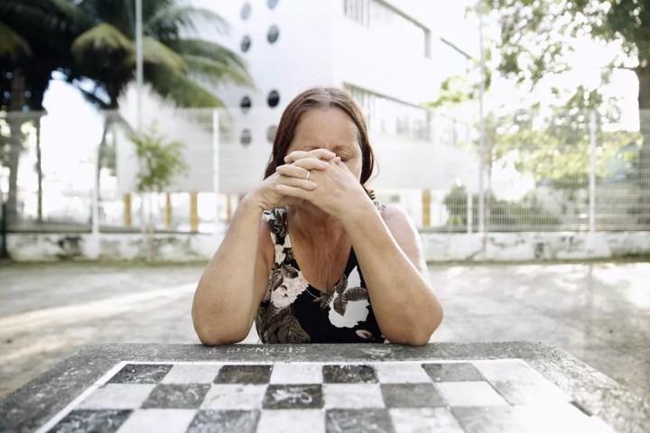Sonia Moreira Torres, avó de Larissa, morta no massacre de Realengo em 2011 — Foto: Marcos Serra Lima/G1