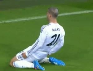 Morata atacante Real Madrid (Foto: Reprodução / SporTV)