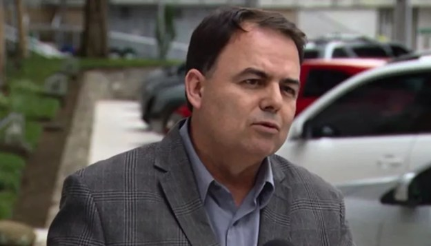 O diretor-geral do Departamento de Estradas de Rodagem no Paraná (DER-PR), Nelson Leal Junior, foi preso nesta quinta-feira (22) (Foto: Reprodução/ RPC Curitiba)
