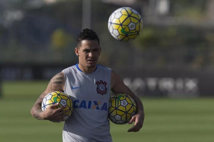 Luciano teve altos e baixos no Corinthians — Foto: Daniel Augusto Jr/Ag. Corinthians