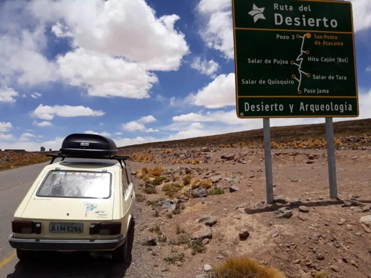 Ruta del Desierto, na Argentina — Foto: Arquivo pessoal/Alberto Carlos Fröhlich