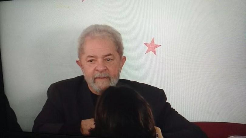 Este é o terceiro processo a que Lula responde em Curitiba (Foto: reprodução/Globo News)