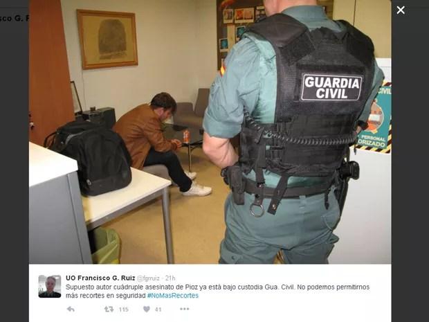 Suspeito detalhou chacina de familia paraibana na Espanha para amigo pelo WhatsApp