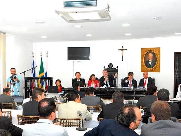 Decisão foi aprovada durante 33ª sessão do Conselho Pleno da OAB (Foto: Angelino de Jesus/OAB-BA)