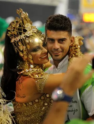 radamés MANCHA VERDE viviane araujo (Foto: Guilherme Kastner/Brazil Photo Press/Agência Estado)