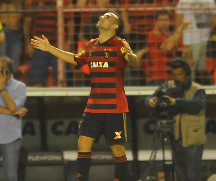 Maikon Leite - Sport x Goiás (Foto: Antônio Carneiro/Pernambuco Press)
