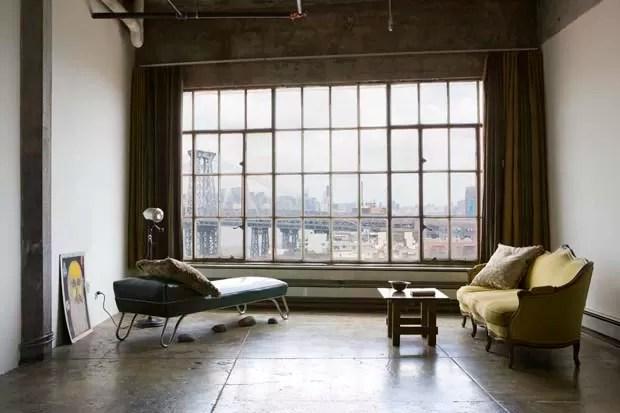 Morada industrial e minimalista em NY  Casa Vogue