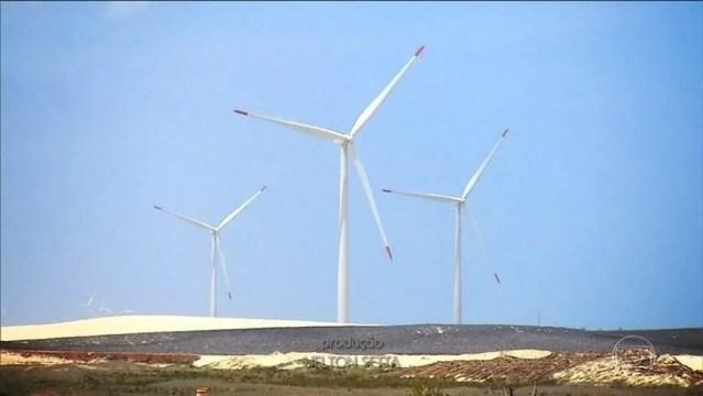 O uso da energia eólica está avançando - inclusive nos países em desenvolvimento (Foto: Reprodução/JN)