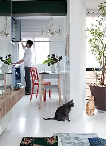 Apartamento pequeno e integrado dicas para otimizar o