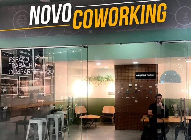 Coworking Botafogo Praia Shopping (Foto: Reprodução/Facebook)
