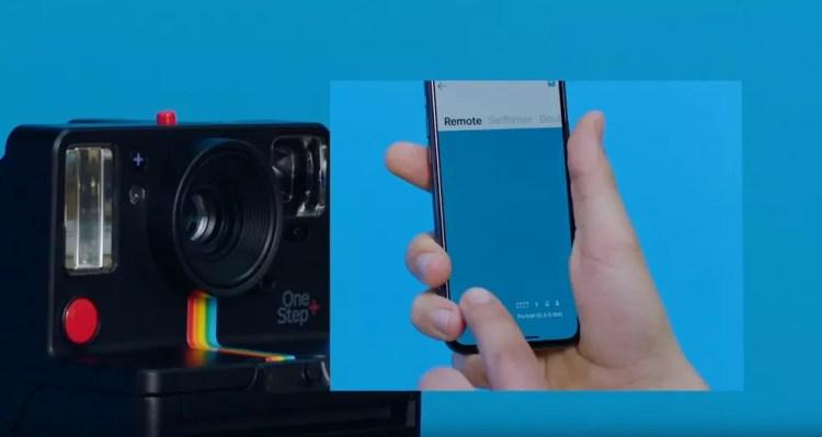 Polaroid OneStep+  nova câmera instantânea tem conexão com celular ... de2446246d