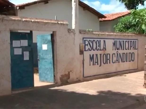 Escola em Barreiras, Bahia (Foto: Reprodução/ TV Bahia)