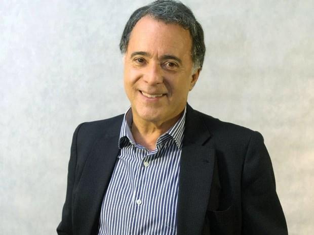 Tony Ramos vai tomar café da manhã com Ana Maria no Mais Você desta terça-feira (Foto: TV Globo/Zé Paulo Cardeal)