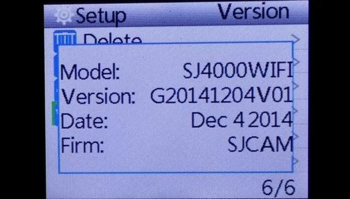 Firmware da SJCAM SJ4000 Wi-Fi (Foto: Divulgação/SJ4000.com.br)