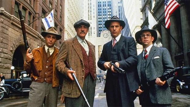 Rede Globo > filmes - Corujão: Sean Connery, Andy Garcia e Kevin Costner são 'Os Intocáveis'
