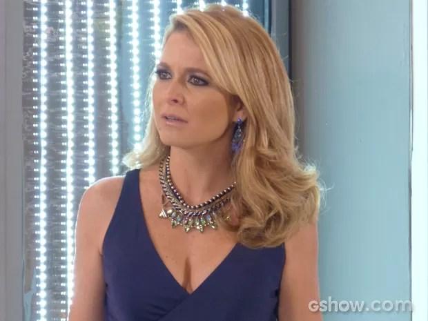 Pamela fica revoltada e sai para lá de chateada (Foto: Geração Brasil/TV Globo)
