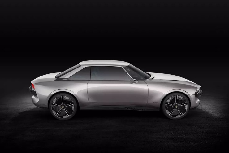 Peugeot e-Legend Concept — Foto: Peugeot/Divulgação