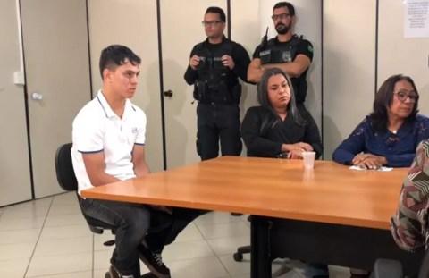 Audiência de custódia aconteceu nesta quarta-feira (26), em João Pessoa — Foto: Walter Paparazzo/G1
