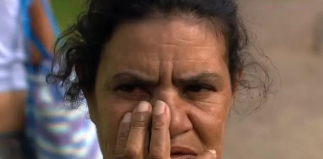 Dalva de Araújo Costa é viúva do morador de rua Sebastião Lopes — Foto: TV Globo/Divulgação