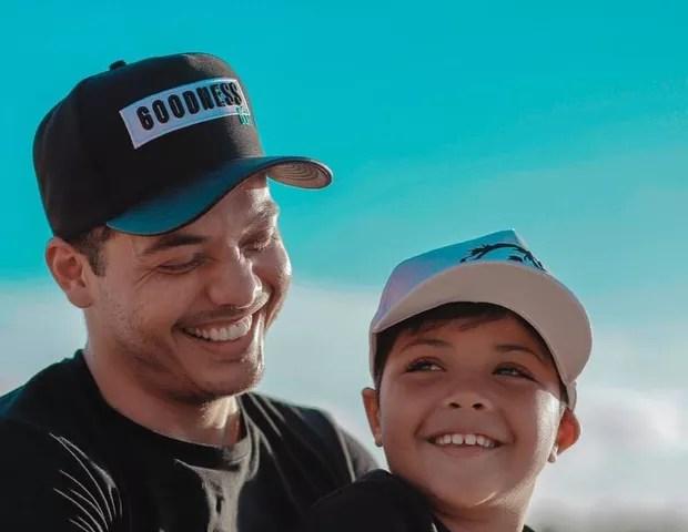 Wesley Safadão e Yhudy (Foto: Reprodução)