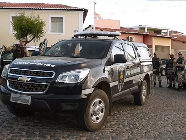Operação 'Áries' foi deflagrada na manhã desta terça-feira (17) no Seridó potiguar (Foto: Cleto Filho)
