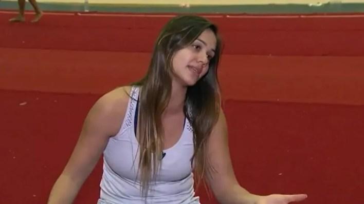 Ana Paula Scheffer trabalhava como técnica de ginástica rítmica, em Cascavel. — Foto: Reprodução RPC