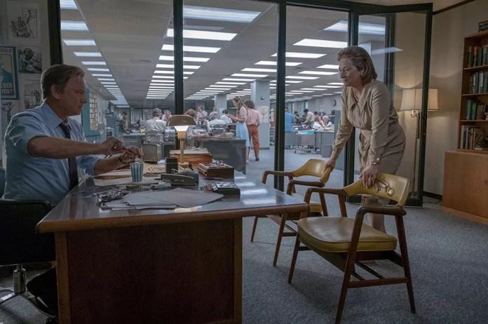 Tom Hanks e Meryl Streep em cena de'The Post: A guerra secreta' (Foto: Divulgação)