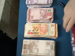 Suspeito tentou roubar dinheiro que foi recolhido como dízimo (Foto: Diário Central/ Reprodução)