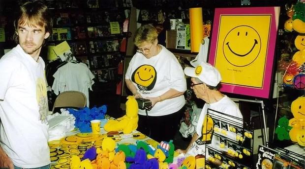 Os produtos das carinhas felizes arrecadaram US$ 50 milhões nos anos 70 (Foto: Divulgação)