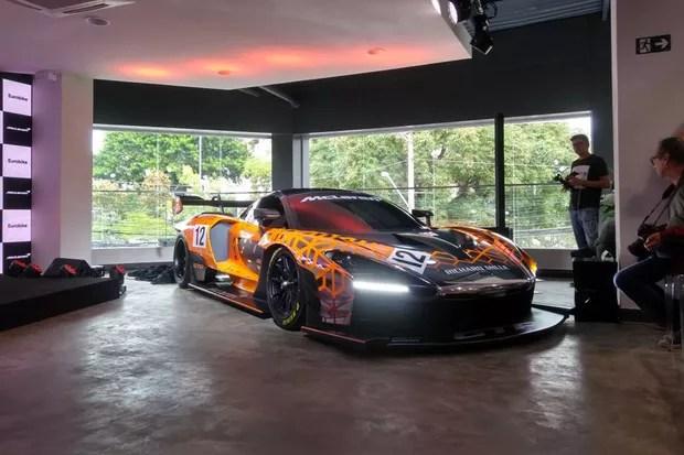 McLaren Senna GTR (Foto: Autoesporte)
