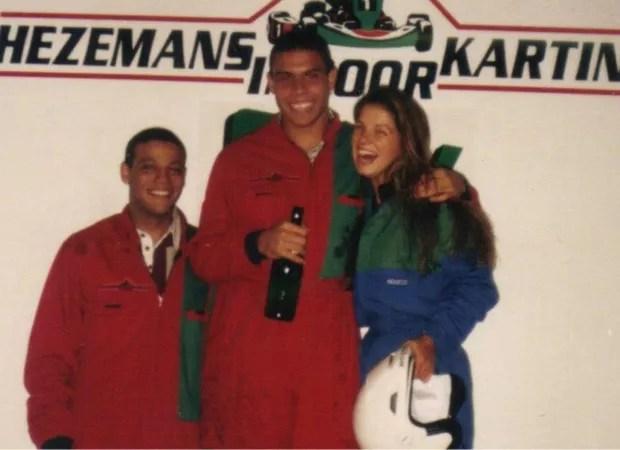 Ronaldo e Vivi viveram um romance nos anos 1990 (Foto: Arquivo pessoal)