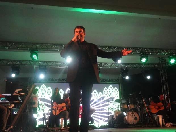 Padre Fábio de Melo foi o mais votado para a abertura do Círio Musical 2013. (Foto: Dominik Giusti/G1)