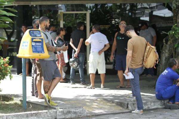 Centro de Distribuição dos Correios no Recife funcionou normalmente, mesmo com anúncio de greve (Foto: Marlon Costa/Pernambuco Press)