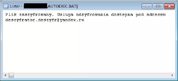 Objetivo do ransomware é fazer vítima pagar para reaver seus arquivos (Foto: Divulgação/AVG)