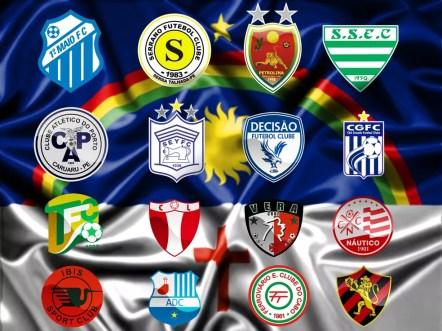 Equipes brigam por uma vaga na elite do futebol estadual (Foto: GloboEsporte.com)