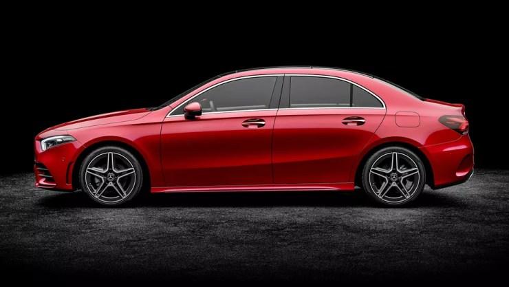 Mercedes-Benz Classe A Sedan — Foto: Mercedes-Benz/Divulgação