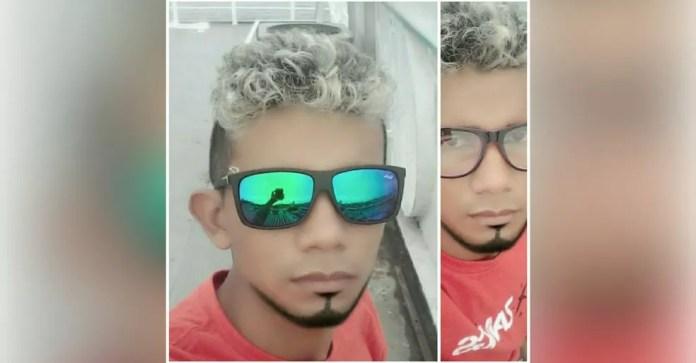 Arisson Santos é procurado pela polícia como suspeito de ter espancado o jovem Davi Amaral — Foto: Reprodução/Facebook