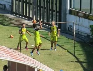 Carlos Alberto Vasco treino (Foto: Raphael Zarko)