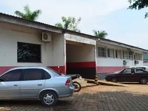 Quatro presos prestaram depoimento na delegacia de Ji-Paraná (Foto: Samira Lima/G1)