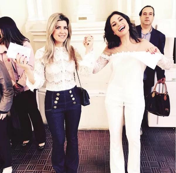 Maria Melillo e Iris Stefanelli (Foto: Reprodução / Instagram)