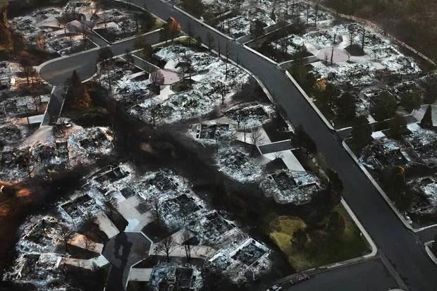 Autoridades dizem que esse é o incêndio mais devastador na história do Colorado. (Foto: Spencer Platt/Getty Images/AFP )