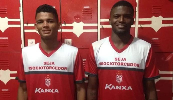 Sergipe empresta Lucas Vinícius e João Victor ao Inter (Foto: Felipe Martins/Ascom CSS)