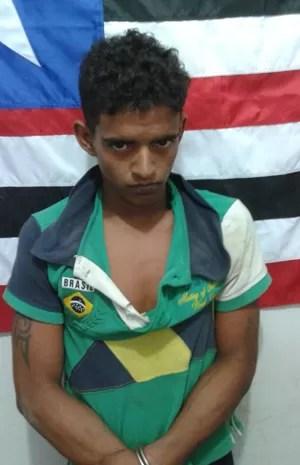 Suspeito de estuprar e tentar matar mulher é preso em São Luís (Foto: Divulgação/Polícia)
