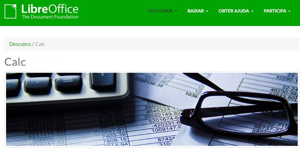 Calc da LibreOffice realiza tabelas e cálculos como o Excel — Foto: Reprodução/Carol Fernandes