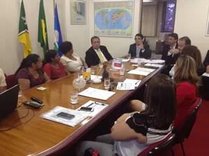 audiência renda governo atrasos amapá (Foto: Fabiana Figueiredo/G1)