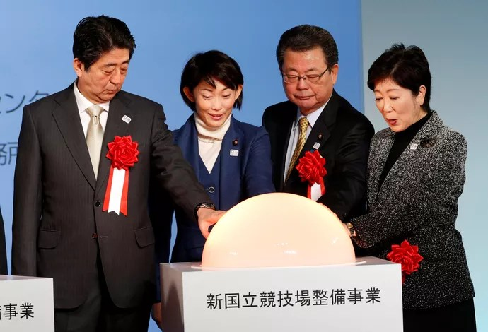 tóquio 2020 shinzo abe (Foto: Reuters)