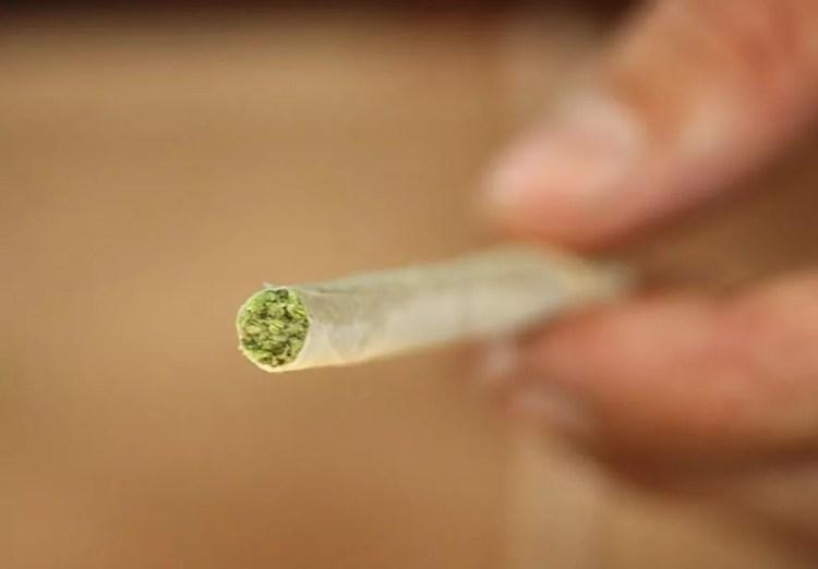 Cigarro de maconha — Foto: David McNew/Getty Images/AFP