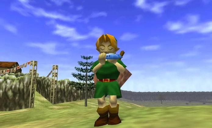 The Legend of Zelda: Ocarina of Time foi o ponto alto da trajetória do Nintendo 64 (Foto: Reprodução/YouTube) (Foto: The Legend of Zelda: Ocarina of Time foi o ponto alto da trajetória do Nintendo 64 (Foto: Reprodução/YouTube))